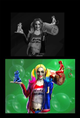 andrew-hunt-suicide-squad-harley-sketches-2