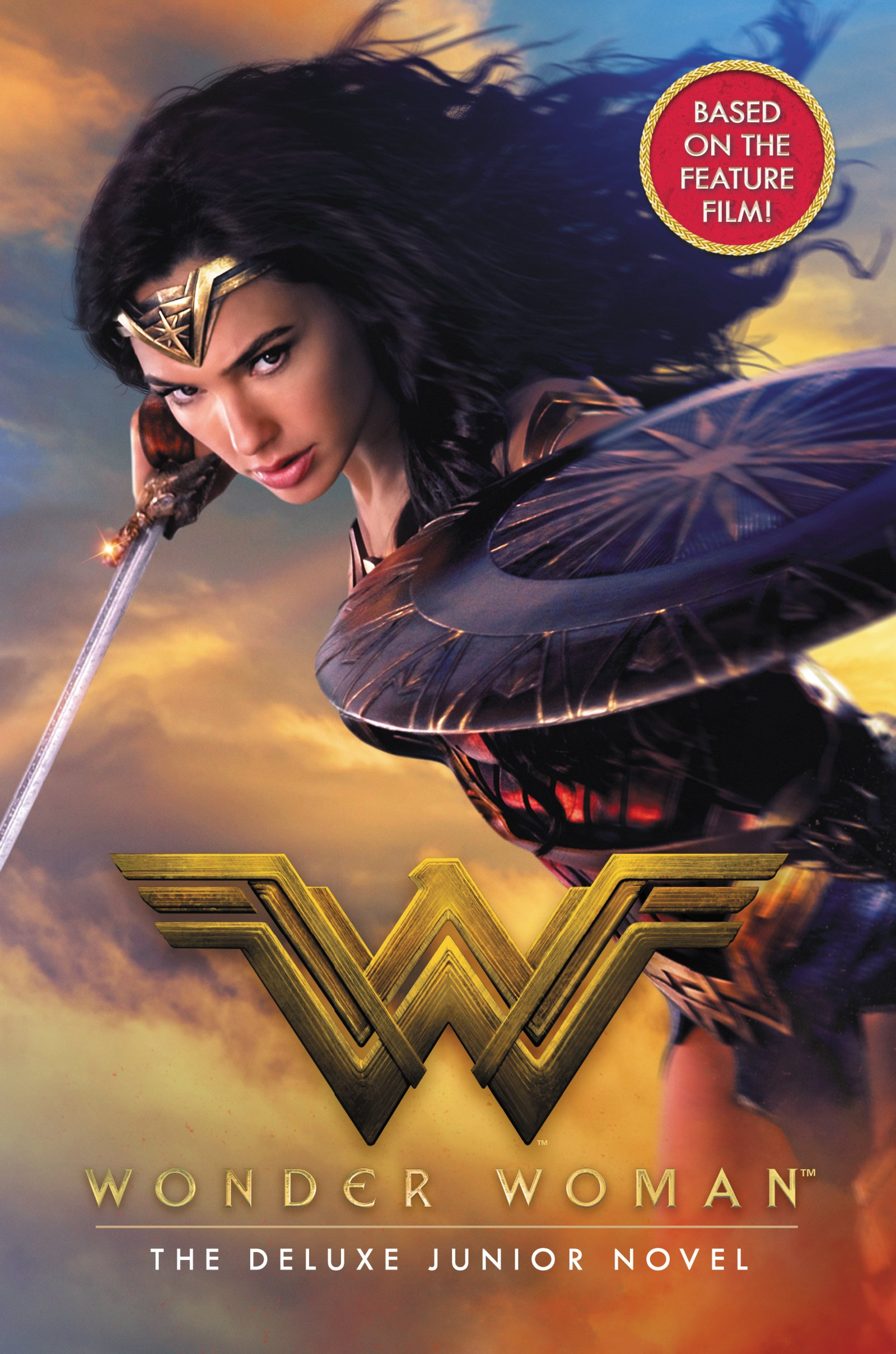Amazon Has Put Up Its Listing For Wonder Woman The Deluxe Junior Novel And Cover Gives Us A Fantastic New Look At Gal Gadot In Costume