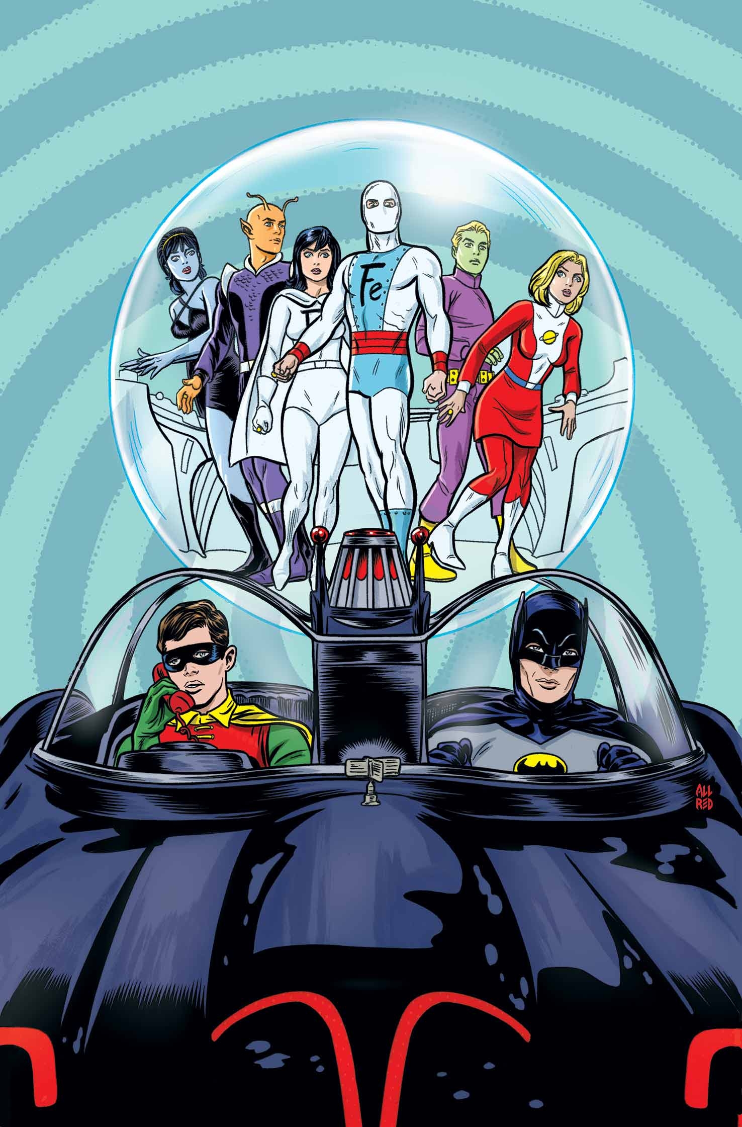 Batman 66 Legion 1