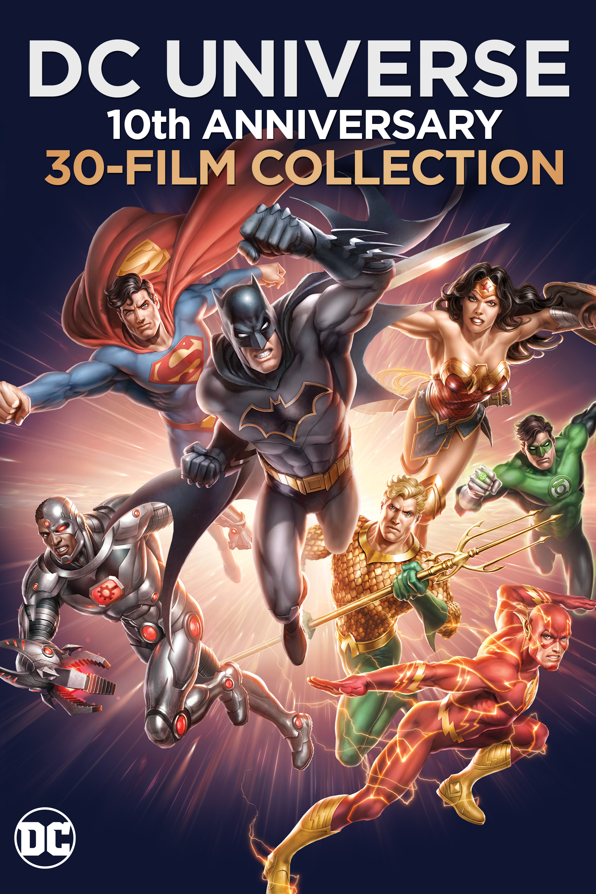 Warner Bros  is releasing all 30 DC Universe animated movies in one