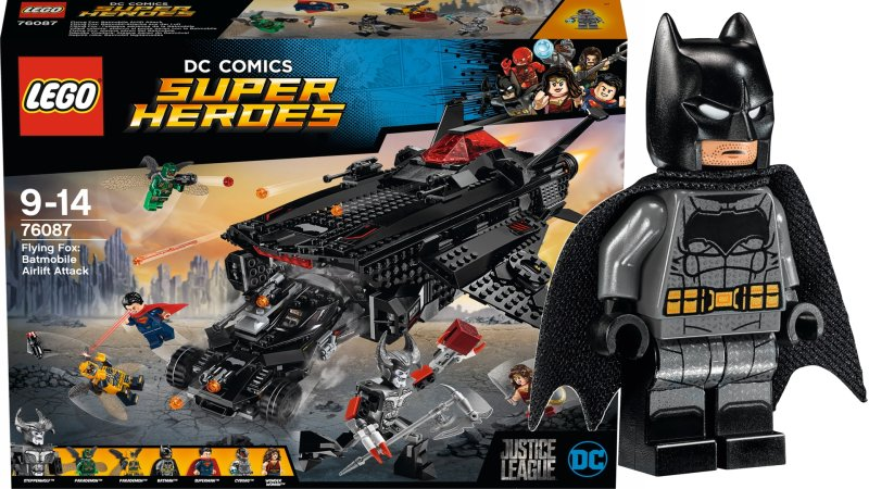 'Justice League' LEGO sets showcase Batman's new vehicles ...