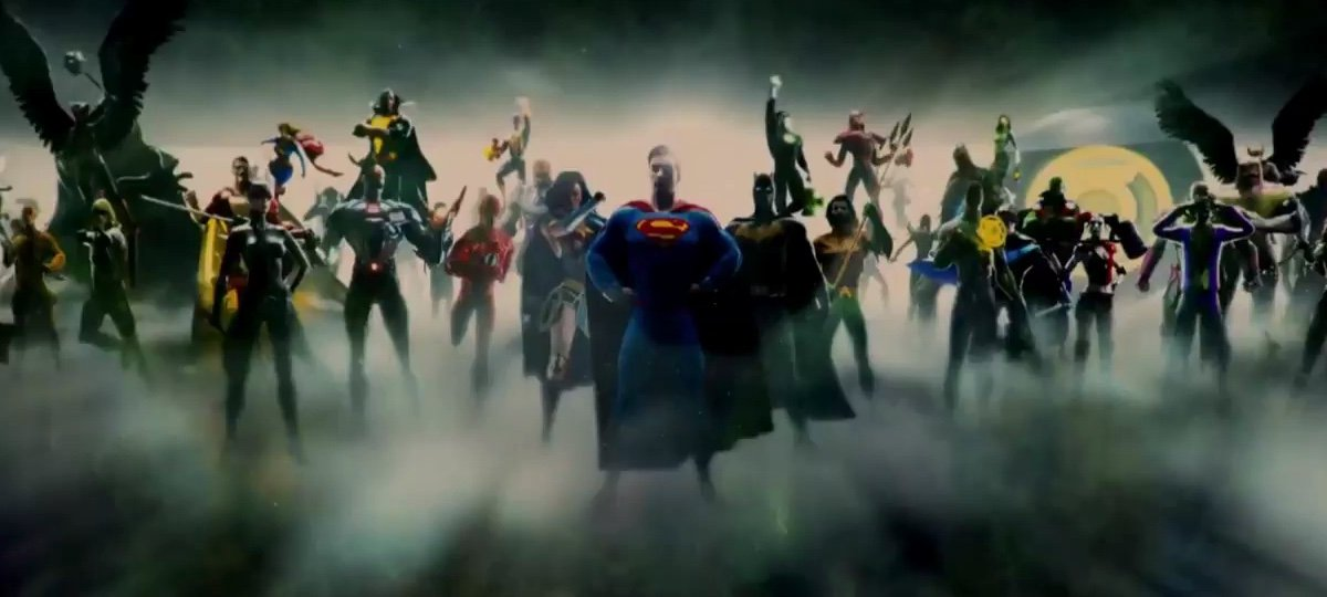 Image result for dceu movie slate comic con experience