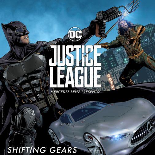 Mercedes-Benz startet Marketing-Kampagne zum Superhelden-Epos JUSTICE LEAGUE von Warner Bros. Pictures: Superhelden fahren Mercedes-Benz