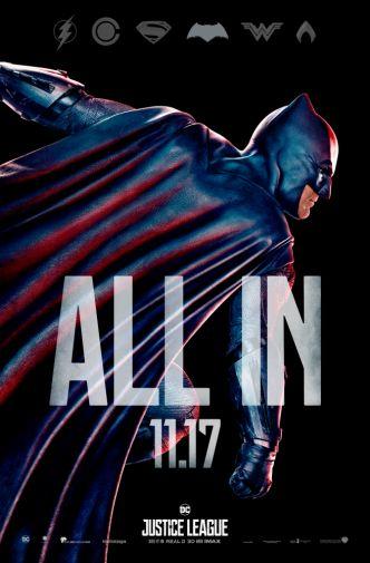 Batman Poster Justice League