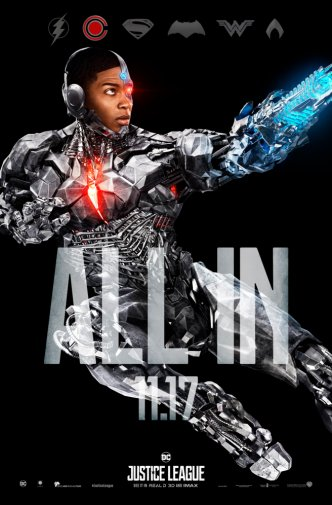 Cyborg Poster Justice League