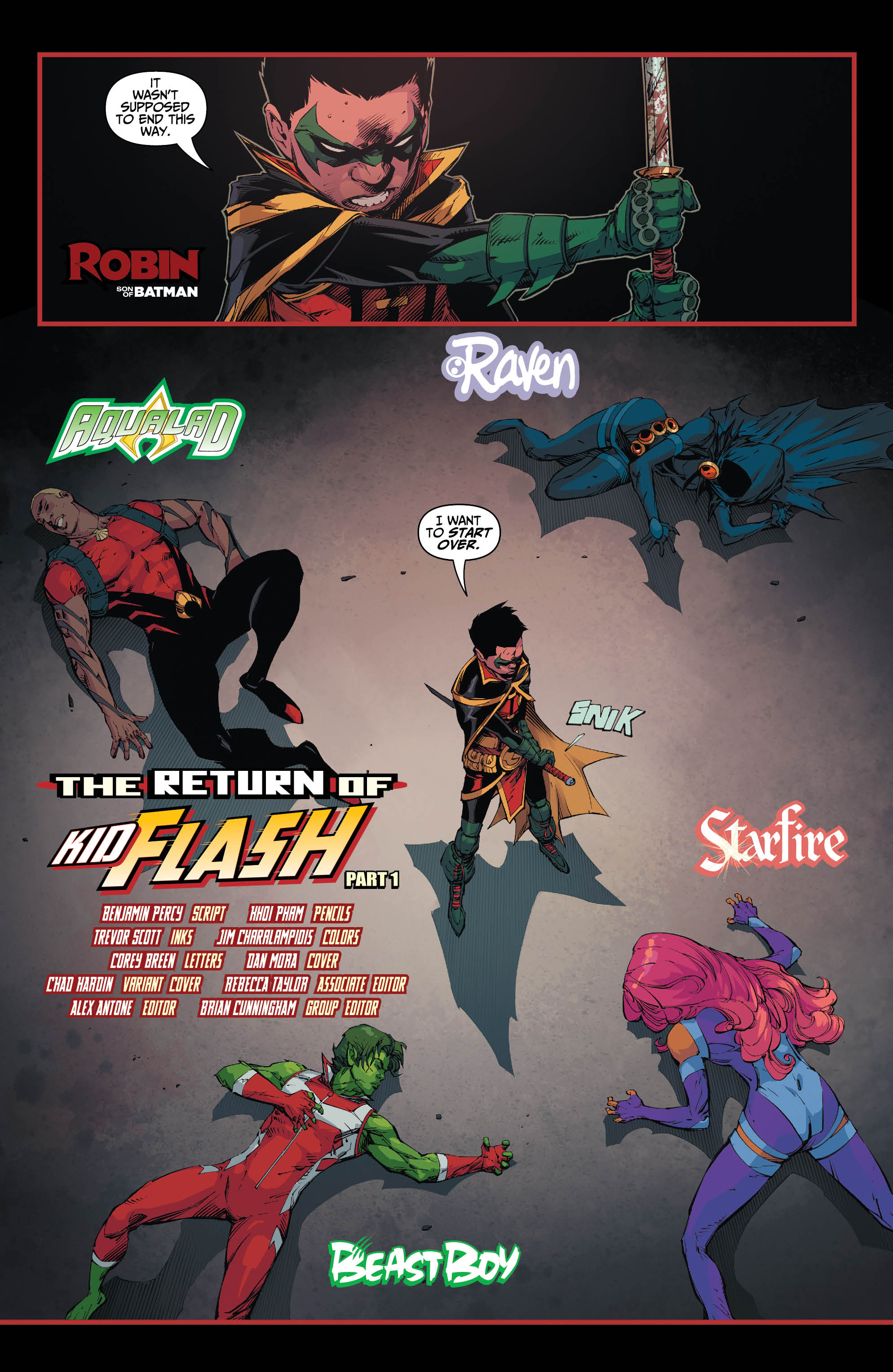 DC REBIRTH TEEN TITANS #13 VARIANT