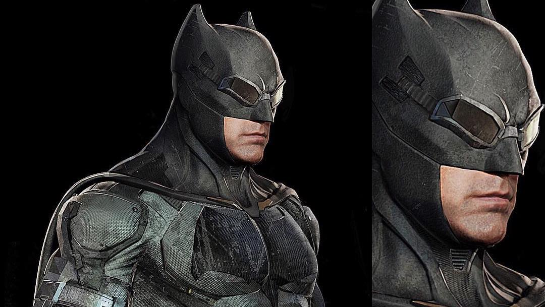 Batmans Suit Concept Art
