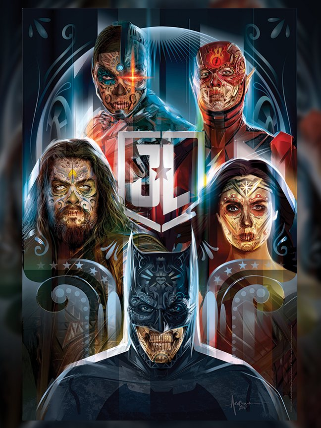 Justice League Day of the Dead