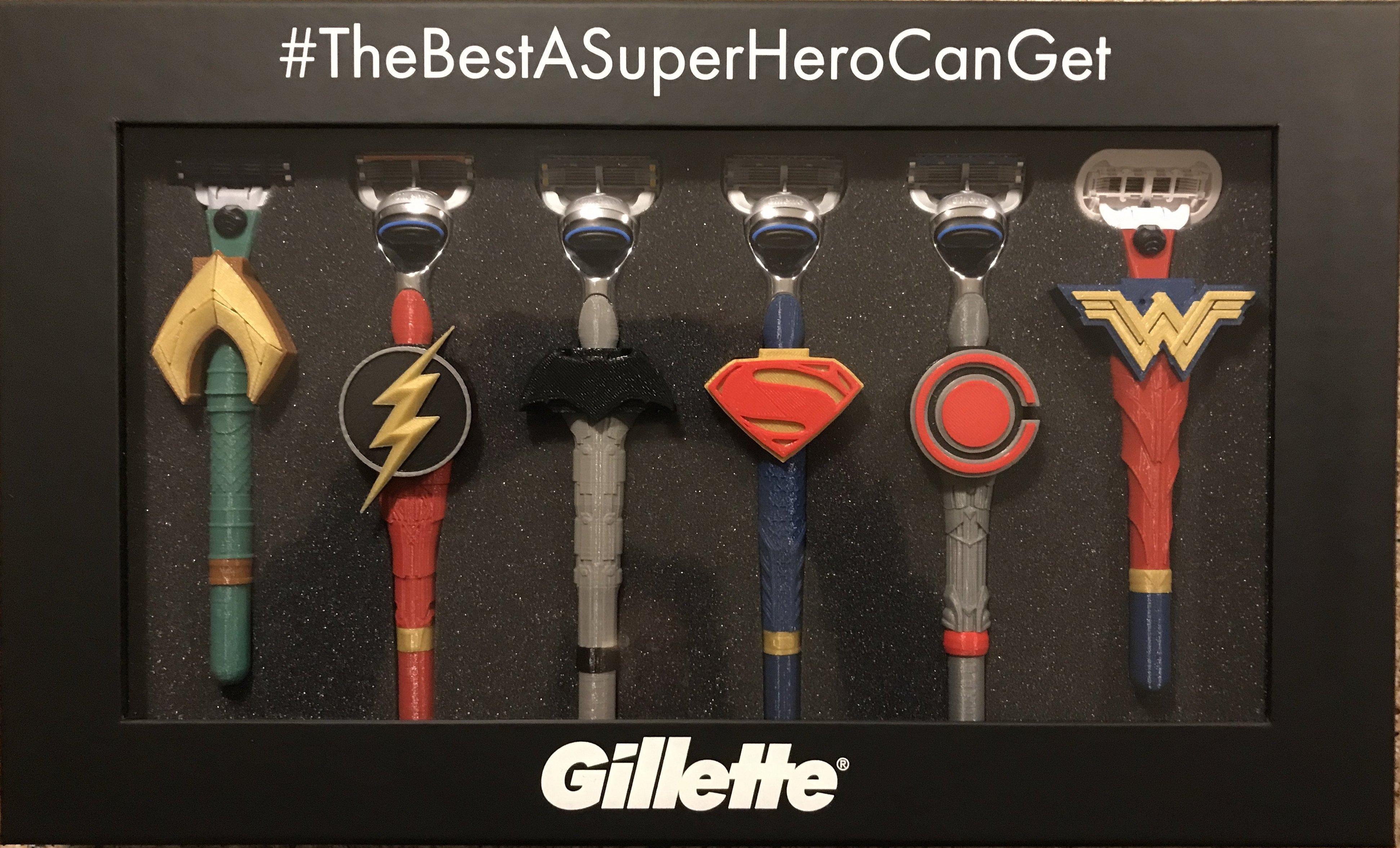 Justice League Gillette Giveaway