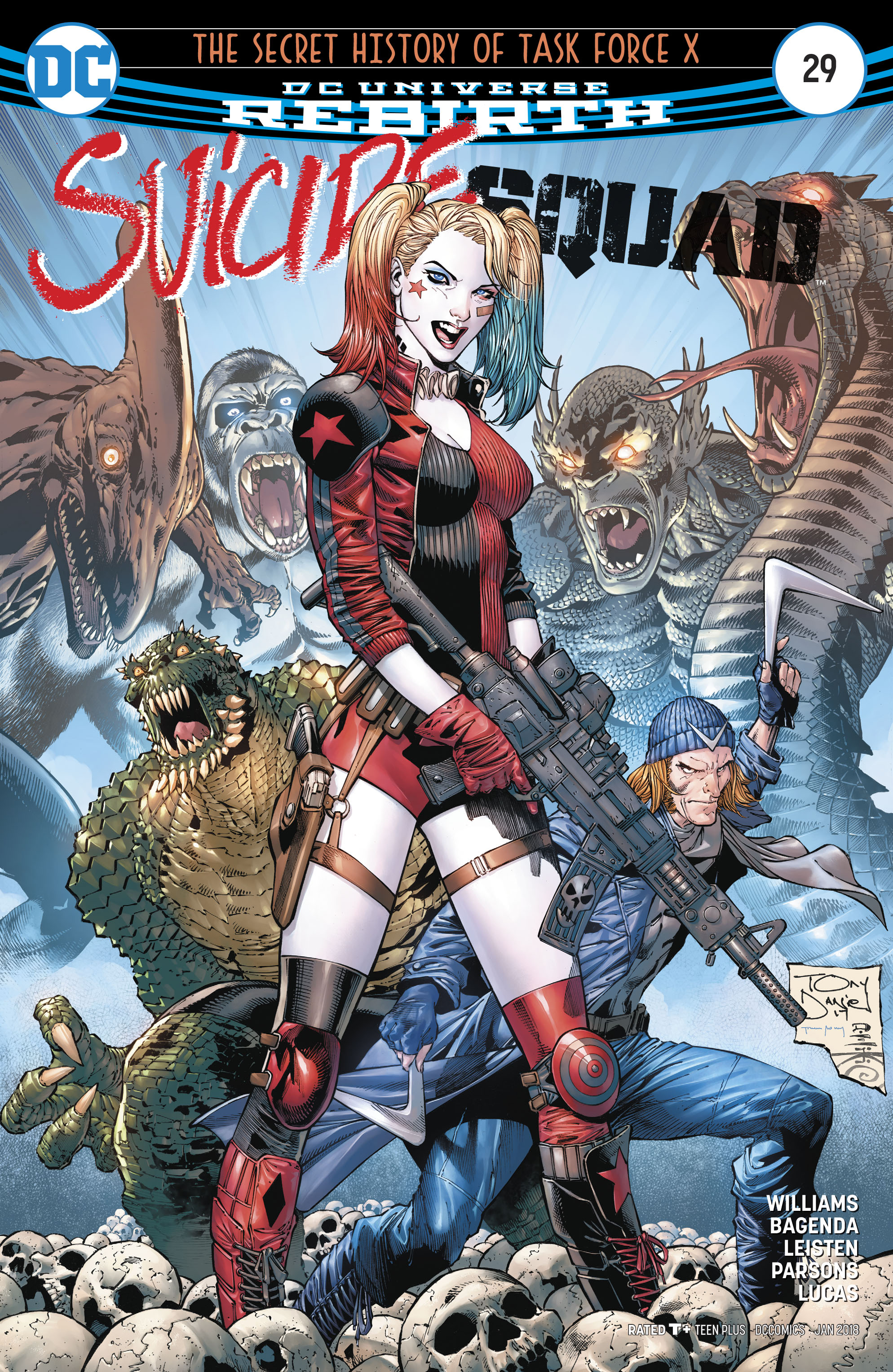 DC COMICS BATMAN ARKHAM KNIGHT #2 FEATURING HARLEY QUINN COVER SUICIDE SQUAD