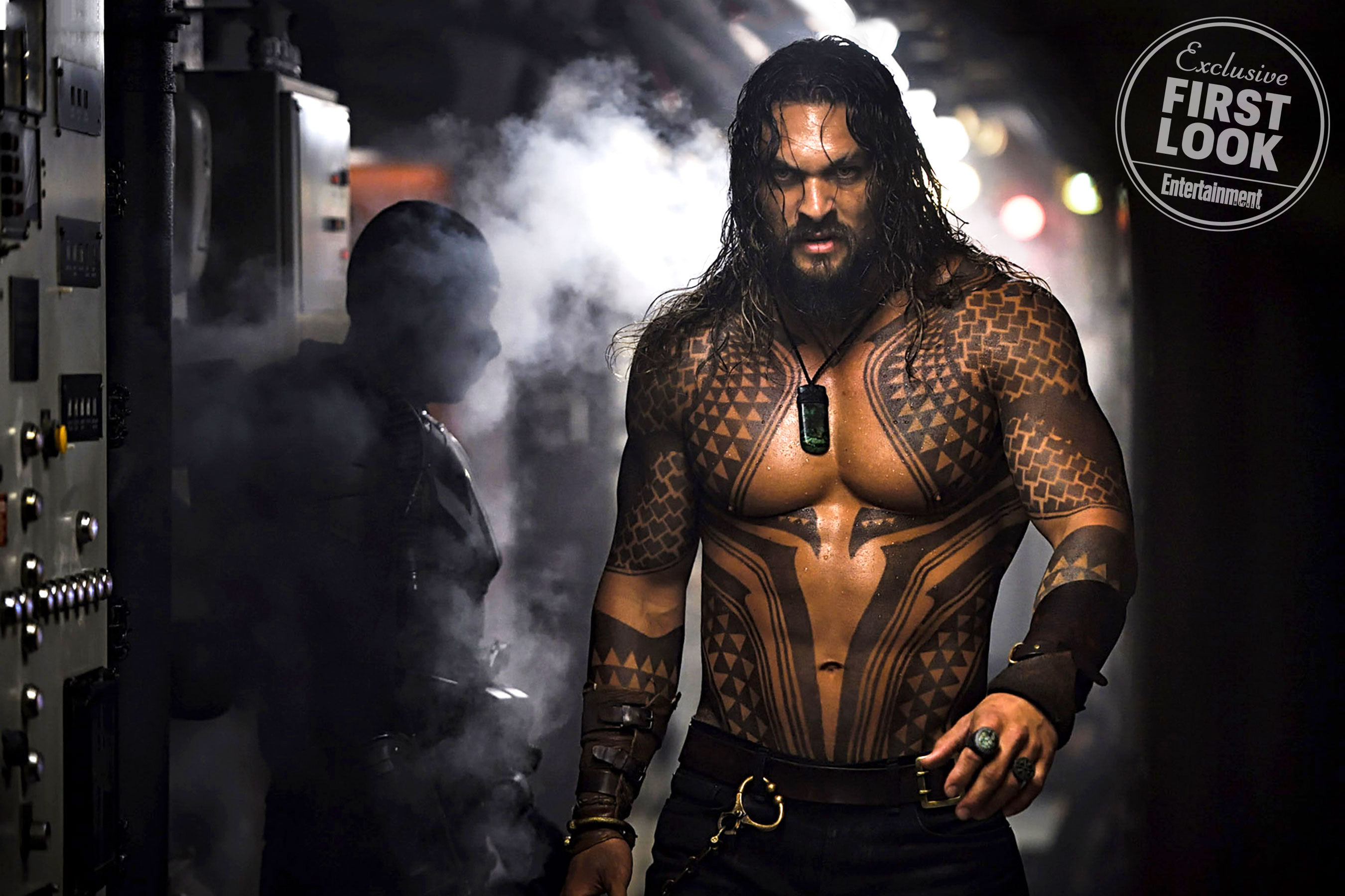 First look at Jason Momoa in the Aquaman movie