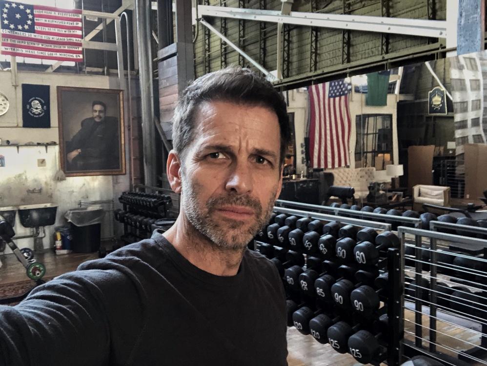 Zack Snyder Gym Office Batman v Superman