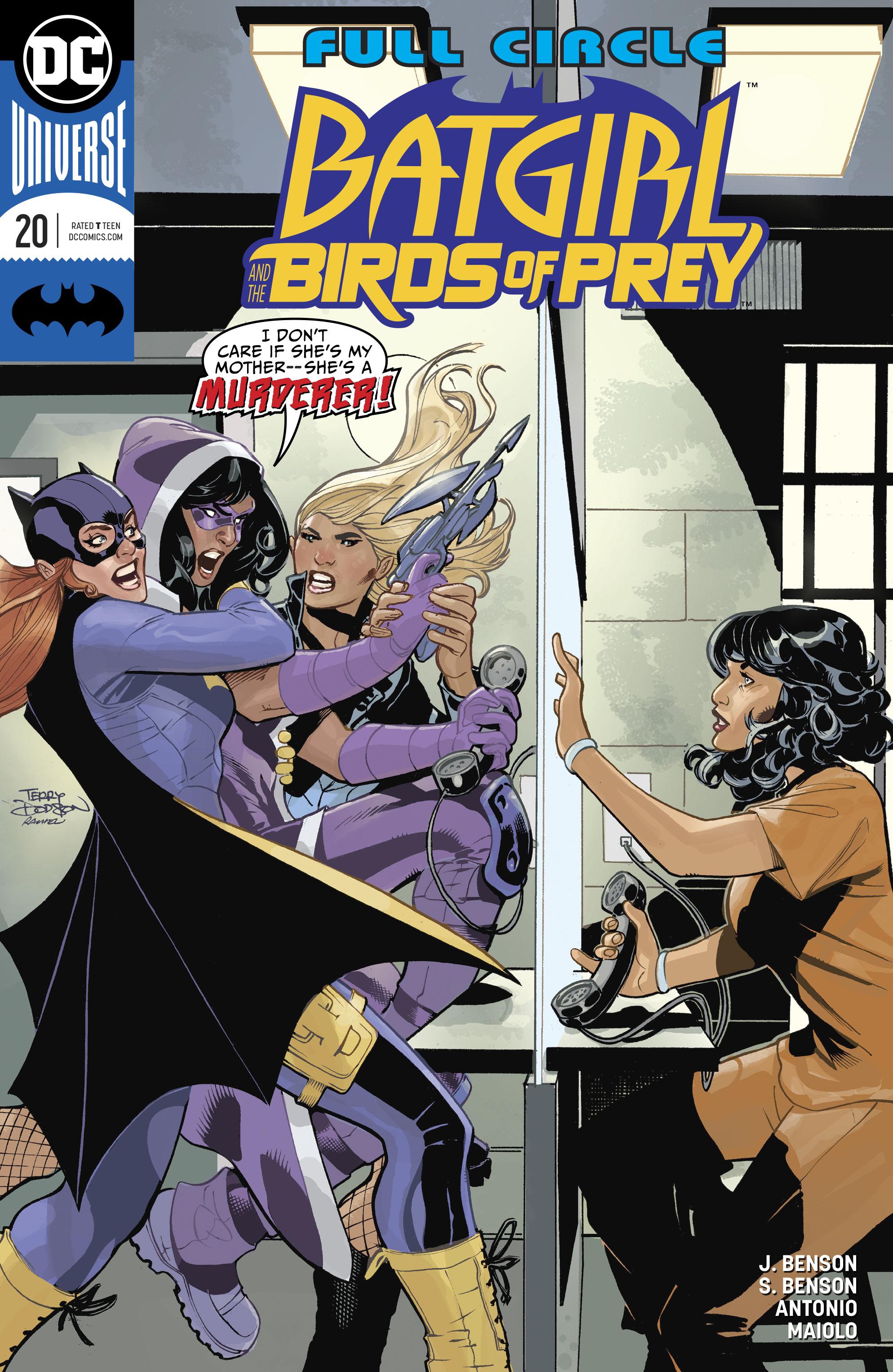 Batgirl And The Birds Of Prey 20 Review Batman News