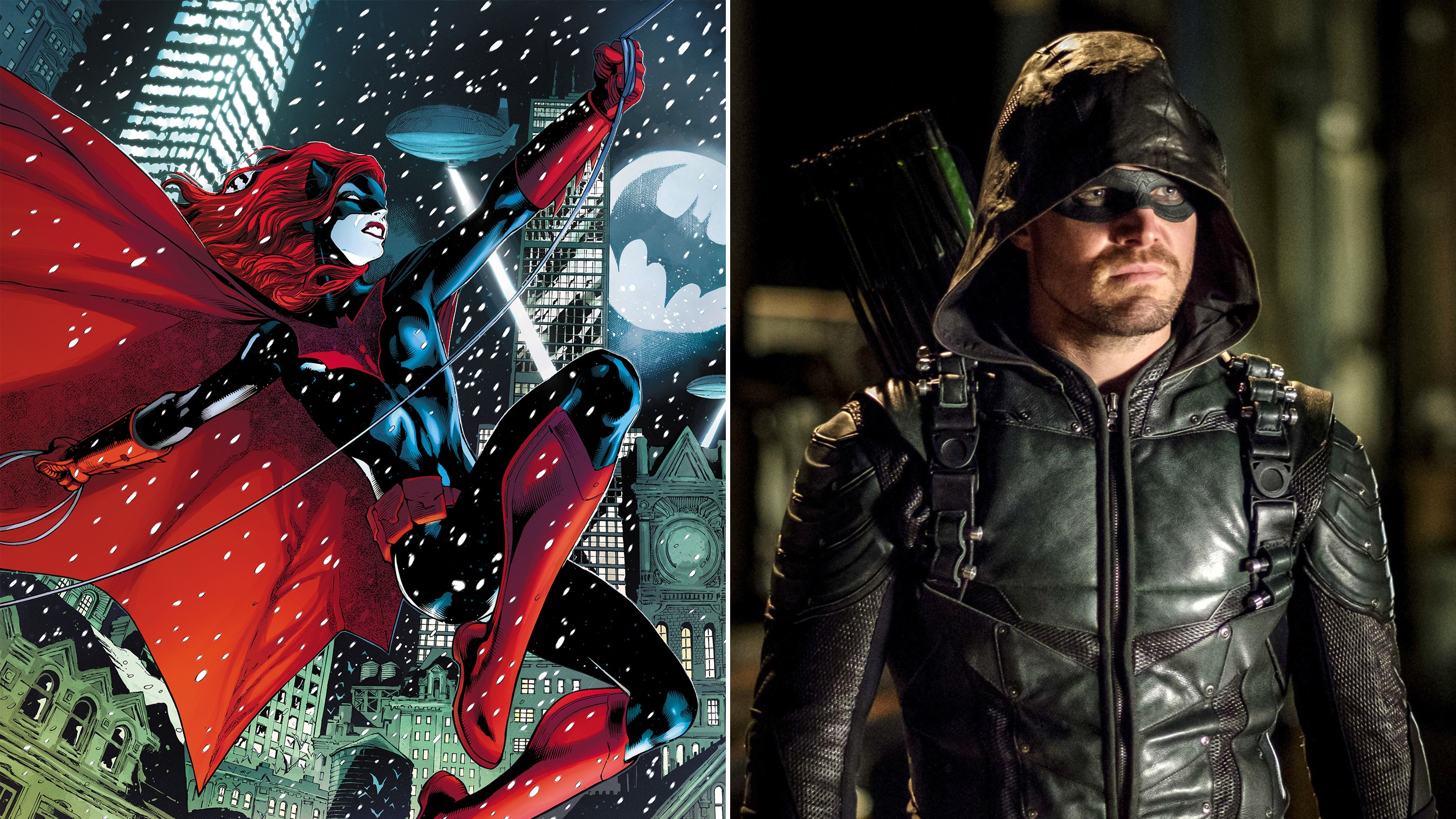 Fans React to Batwoman & Gotham City Joining Arrowverse in 2018 Crossover