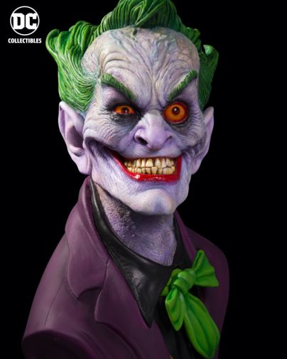 DC Collectibles - Rick Baker Joker Bust - Ultimate Edition - 02