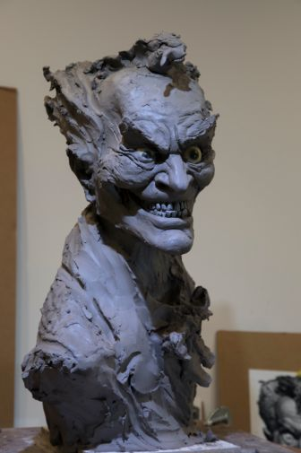 DC Collectibles - Rick Baker Joker Bust - Work in Progress - 07
