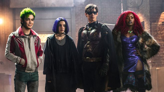 Titans Group Shot