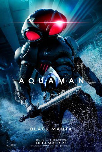 Aquaman - Chraracter Posters - Black Manta