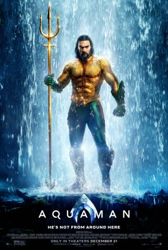 Aquaman - Movie Poster - Main Hero - 01