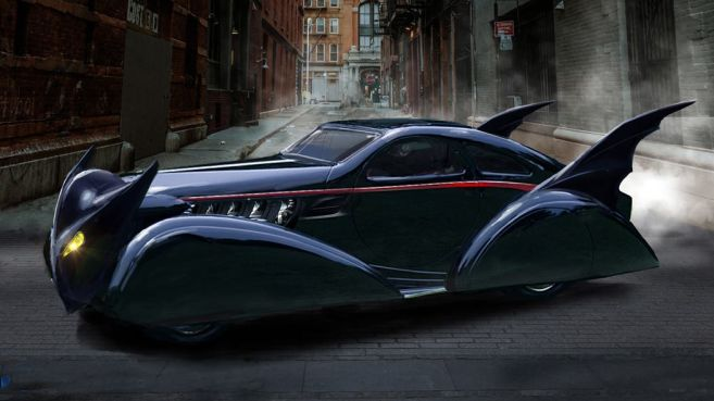 DC Universe - Titans - Batmobile - Concept Art - John Gallagher - 07