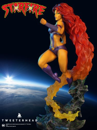 Tweeterhead - Starfire Statue - 01