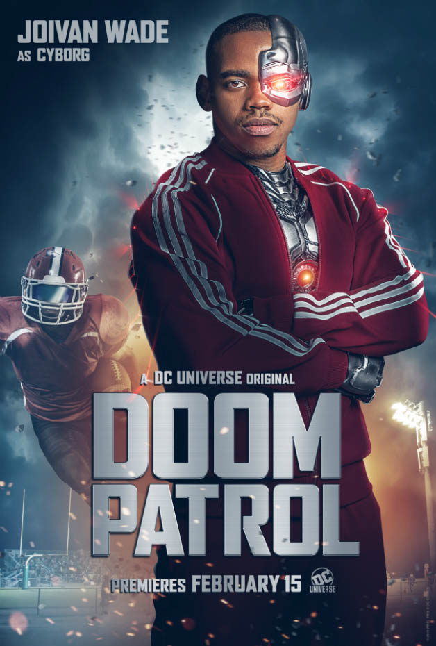 Doom Patrol - Character Poster - Cyborg - 01