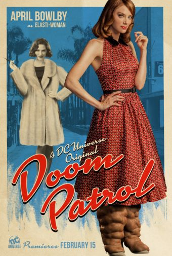 Doom Patrol - Official Images - Character Posters - April Bowlby - Elasti-Woman - 01