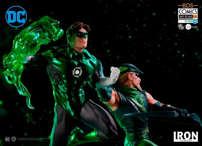 Iron Studios - DC Comics - Green Arrow and Green Lantern - 03