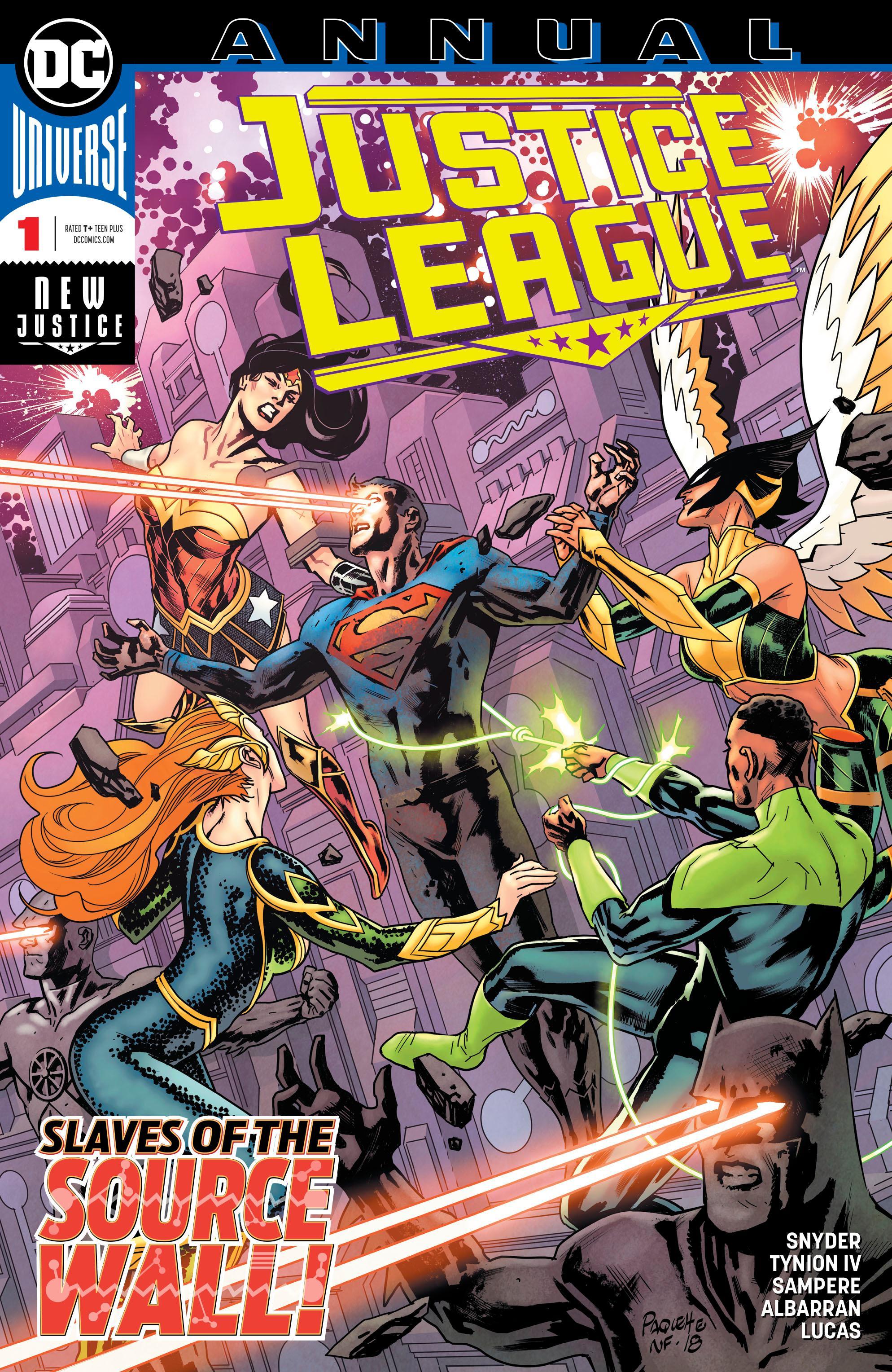 COMIC JUSTICE LEAGUE ANNUAL #1 DC 2019 1st Print