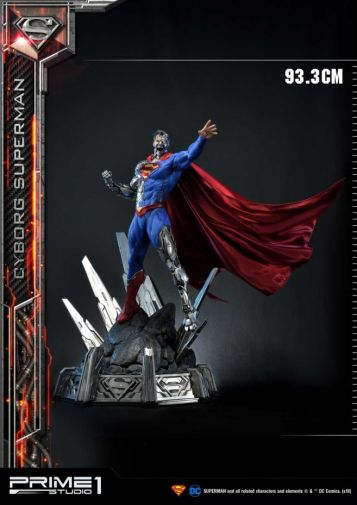 Prime 1 Studio - Superman - Cyborg Superman - 04