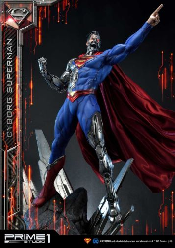 Prime 1 Studio - Superman - Cyborg Superman - 07