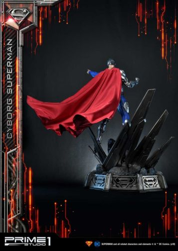 Prime 1 Studio - Superman - Cyborg Superman - 08