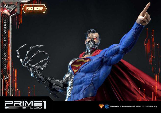 Prime 1 Studio - Superman - Cyborg Superman - 16