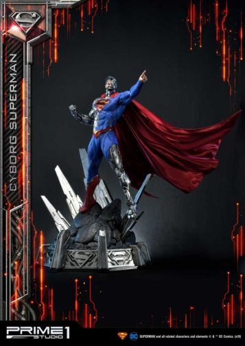 Prime 1 Studio - Superman - Cyborg Superman - 22