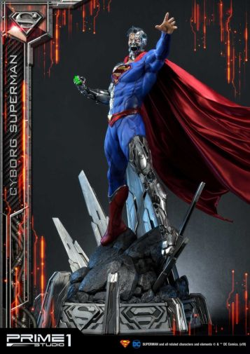 Prime 1 Studio - Superman - Cyborg Superman - 25