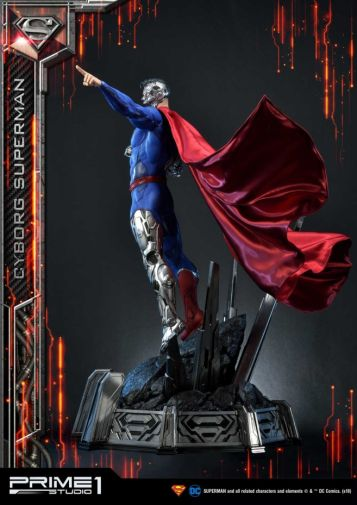 Prime 1 Studio - Superman - Cyborg Superman - 27