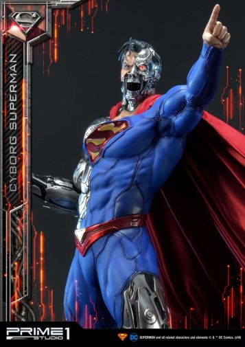 Prime 1 Studio - Superman - Cyborg Superman - 28