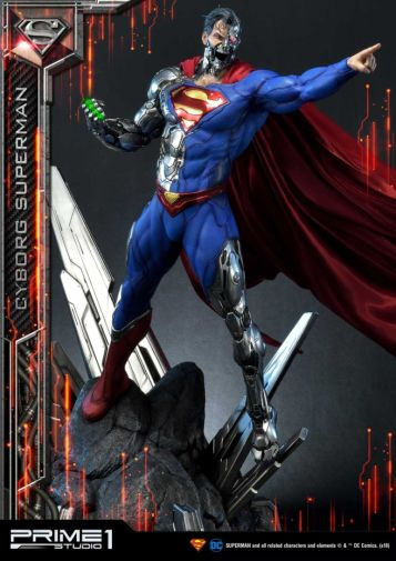 Prime 1 Studio - Superman - Cyborg Superman - 30