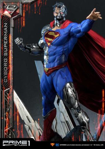 Prime 1 Studio - Superman - Cyborg Superman - 32