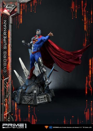 Prime 1 Studio - Superman - Cyborg Superman - 33