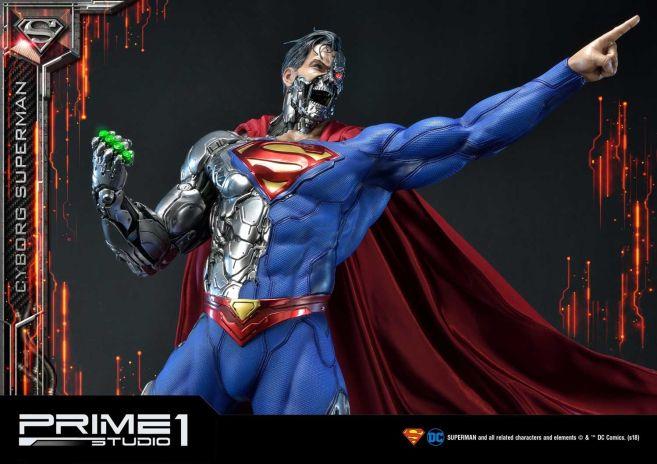 Prime 1 Studio - Superman - Cyborg Superman - 42