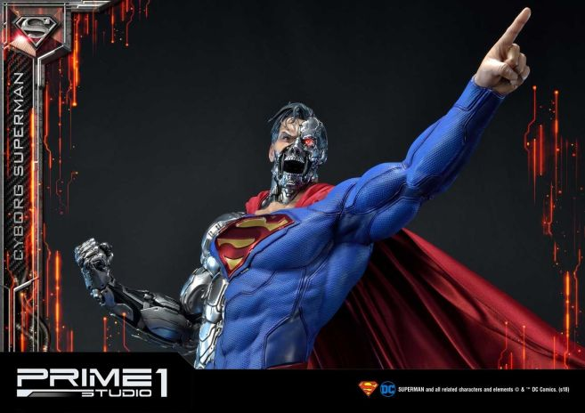 Prime 1 Studio - Superman - Cyborg Superman - 44