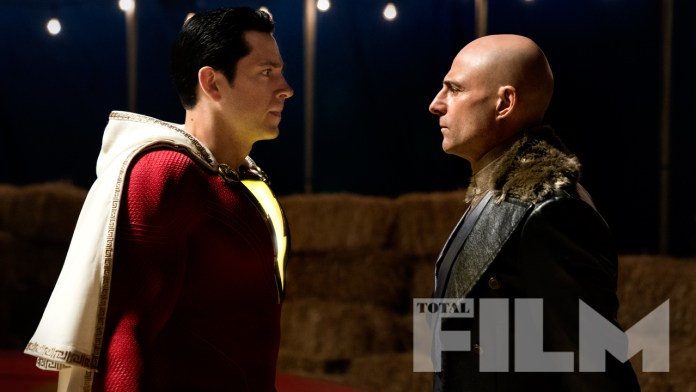 Shazam Makes The Cover Of Total Film New Images Released Batman News
