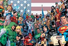 DC Characters Group Shot