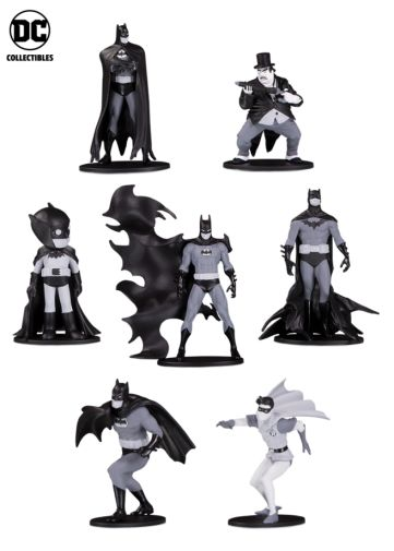 DC Collectibles - Toy Fair 2019 - Batman Black and White - Mini Figures Wave 4 - 01