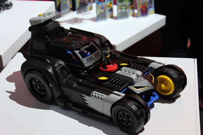Mattel - Toy Fair 2019 - Imaginext - Batmobile - 02