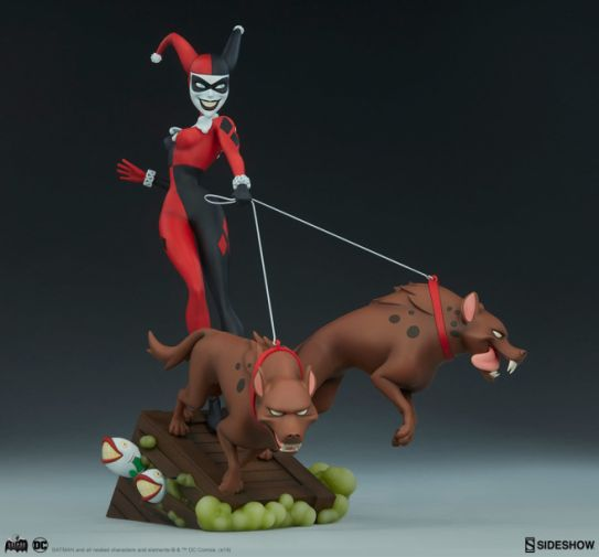 Sideshow - Batman the Animated Series - Harley with Hyenas - 17