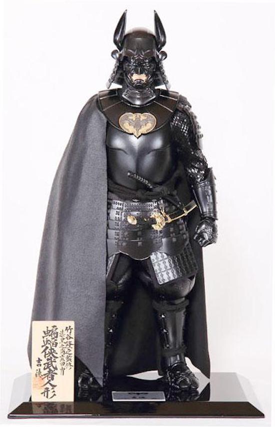 Yoshitoku - Batman Samurai Armor - 01