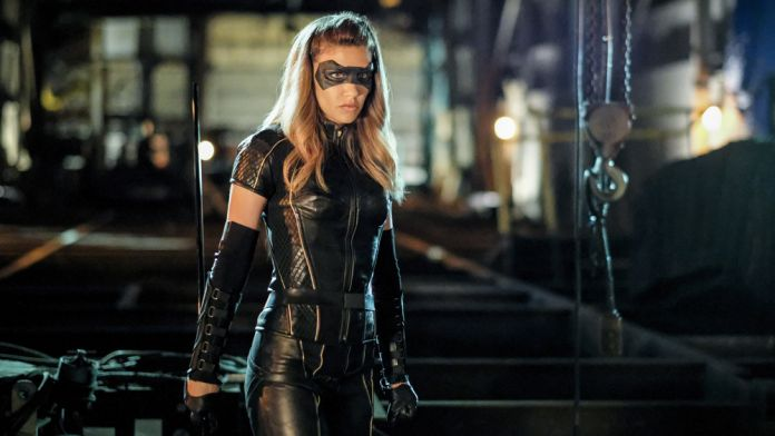 Juliana Harkavy as Dinah Drake / Black Canary on The CW's Arrow