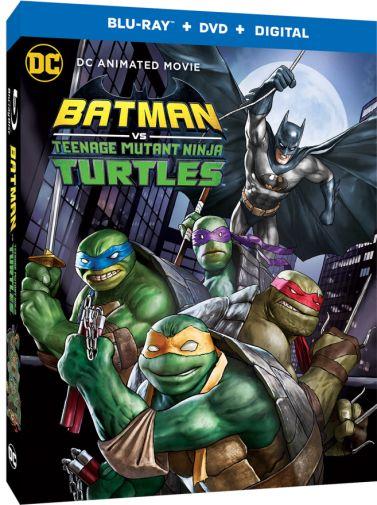 Batman vs TMNT - BD 3D